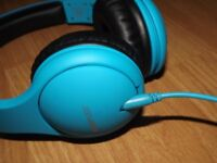 Blue Boompods Headphones - Perfect Condition - Never Used