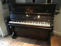 Beautiful Old German Piano Rud. Ibach Sohn Barmen Germany
