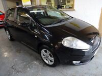 FIAT GRANDE PUNTO 1.4 DYNAMIC, AUTOMATIC, VERY LOW MILES , DRIEVS LIKE NEW, CLEAN CAR, CHEAP TO RUN