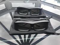 b&o 3d glasses excellent condition