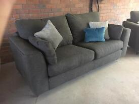 Marks and Spencer's 3 and 2 grey sofas suites. - can deliver