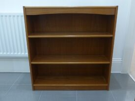 Teak Bookcase/Display Unit
