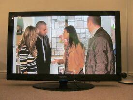 "50"" SAMSUNG PLASMA TV WITH SWIVEL BASE"