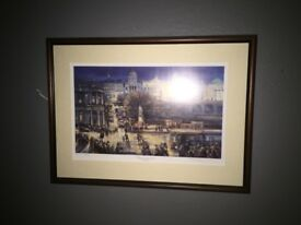 ORIGINAL SIGNED ERIC AULD PAINTING - HEART OF THE CITY