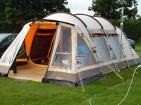 OUTWELL Hawaii Reef Polycotton Tent - 5 Man Person Family Camping Tent Cost £1000 Similar to Vango
