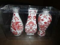 3 VASES--PIER 1--NEW WITH TAGS