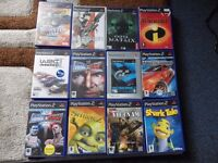 sony ps2 games good condition £2 each sold seperate