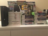 Xbox 360 Elite plus 35 games