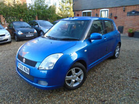 VERY TIDY SWIFT WITH ONE YEAR MOT