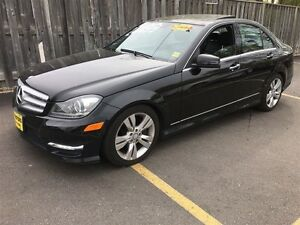 2012 Mercedes-Benz C-Class C300, Navigation, Leather, 4 Matic,