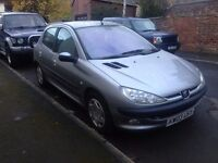 peugeot 206 2.0l diesel with FSH 2003 very reliable 5 door 8 months MOT