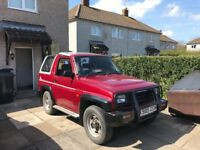 Daihatsu sportrak been dry stored for ten years super clean in side and out