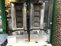 USED GAS DONER KEBAB SHAWARMA GRILL CATERING COMMERCIAL SHOP TAKE AWAY RESTAURANT BAR