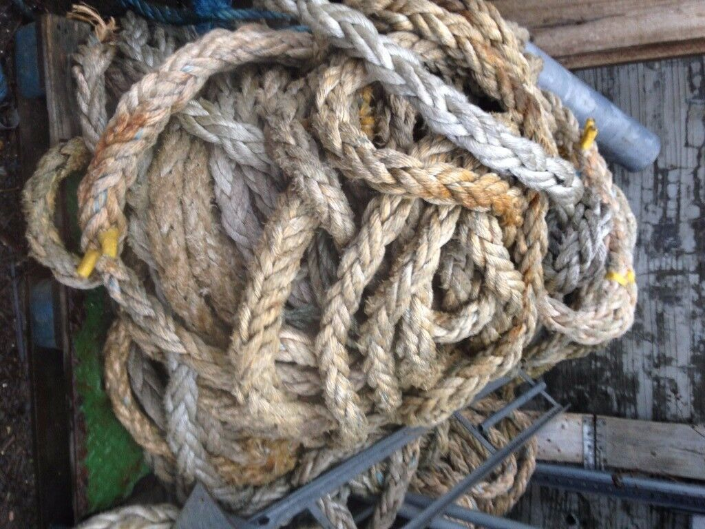 Used Mooring Rope Available
