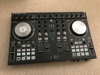 Traktor S4 mk2 with leads and software