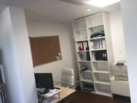 3 desk office to rent by the side of Epping Forest in Loughton