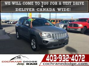 2014 Jeep Compass North 4X4 READY FOR WINTER! BLOWOUT PRICED!