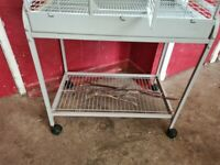 Bird cage, Accessories and carry case for sale