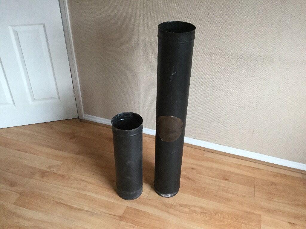 Chimney pipe for wood or multi burner