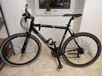 Black Hybrid Bike - Perfect for commuting