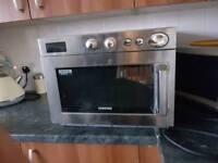 Samsung industrial microwave