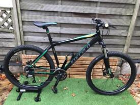 Carrera Vulcan mountain bike bicycle men's woman's suspension Hardtail bike rrp £370!
