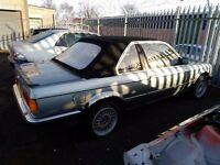 1985 BMW 323i Baur TC2 Restoration Project