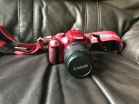 Red Canon 1100D