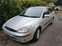 Ford Focus 1.6 Automatic 2002 52 plate- low mileage