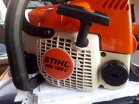 Stihl chainsaw reconditioned