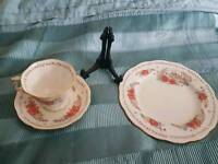 Taurus cup saucer and plate set