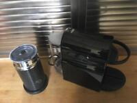 Nespresso inissia machine & aeroccino
