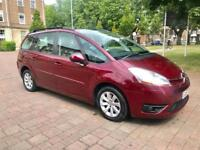 2007 Citroen c4 Picasso 7 VTR 2.0 petrol automatic service history 7 seater