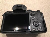 Sony A7R ii Mirrorless Camera, original box, 2 Sony batts, well used but produces excellent pictures