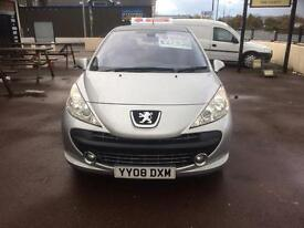 REDUCED XMAS SPECIAL - PEUGEOT 207 GTI TURBO - FSH - 47000 MILES ONLY £2495 Ono