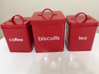 New Kitchen canisters set