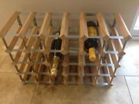Wine rack - 24 bottles