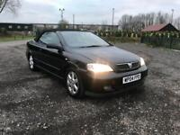 VAUXHALL ASTRA 2004 PETROL CONVERTIBLE ELECTRIC SUN ROOF DRIVES THE BEST