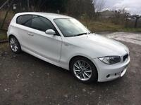 2008 BMW 118d M SPORT diesel 3dr £30 tax Full Year MOT