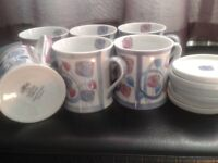 Leonardo collection cups and coasters