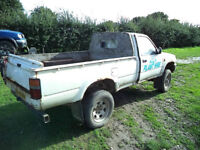WANTED TOYOTA HILUX PICK UP ANY AGE ANY CONDITION 2WD OR 4X4 AND ISUZU