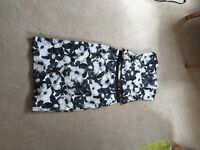 Black and white two piece outfit (ex Coast, size 12)