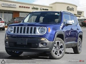 2016 Jeep Renegade | LIMITED | 4X4 | X COMPANY DEMO | LEATHER |
