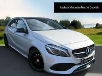 Mercedes-Benz A Class A 220 D MOTORSPORT EDITION PREMIUM (silver) 2017-03-07