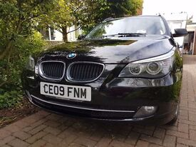 BMW 520 SE Diesel Estate 2009. Good Condition. Service History, very economical car and low road tax