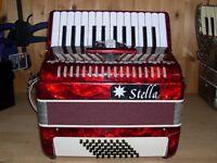 Stella, 48 Bass, 2 Voice, Piano Accordion.