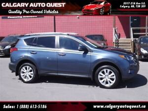 2013 Toyota RAV4 Limited  AWD/B.CAM/LEATHER/SUNROOF