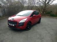 2010 Peugeot 3008 1.6 HDI (not Ford, Vauxhall, VW, Audi, BMW, Nissan, Citroen)