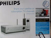 ***Brand New*** Philips SLV5400 - Connect 4 devices to satellite or TV subscription