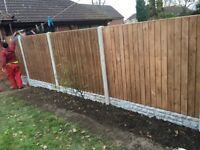 Garden Fencing offer of the month ... Driveways turfing patio slabing